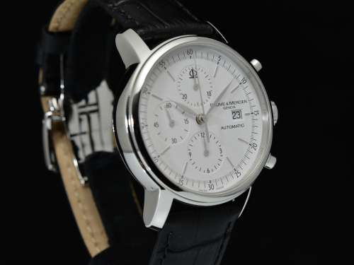 Classima Executives Automatic Chronograph Ref. M0A08591 Quadrante Bianco