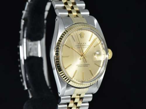 Oyster Perpetual DATEJUST Ref. 16013 Acciaio/Oro, Bracciale Jubilée