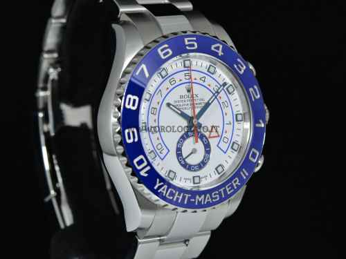 YACHT-MASTER II Oyster, 44 mm  Acciaio Oystersteel Ref. 116680 Scatola e Garanzia 2013