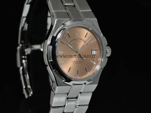 OVERSEAS Automatic Salmon dial 37 mm. Ref.  42040 Acciaio